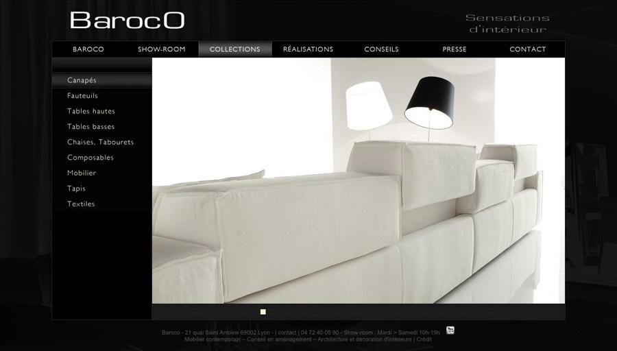 mobilier contemporain internet
